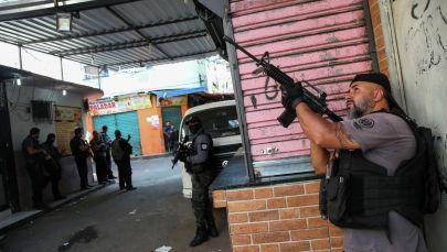 Рио-де-Жанейро шаарында метродо атышуу