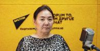 №6 шаардык клиникалык оорукананын өпкө оорулары бөлүмүнүн башчысы Токтобүбү Дөөлөтова
