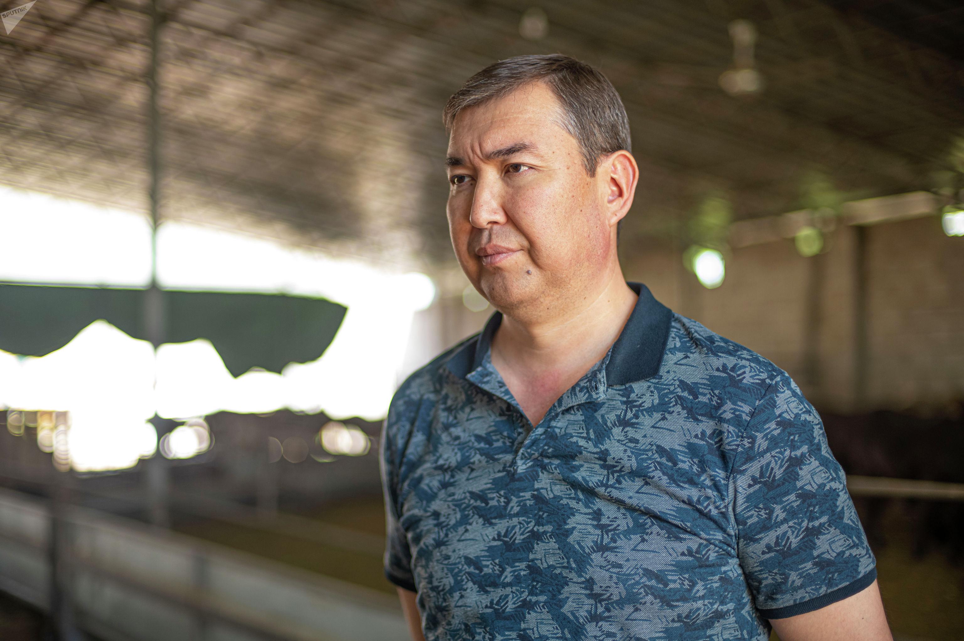 Председатель общественного объединения заводчиков овец Кыргызстана Мирлан Сатыбеков