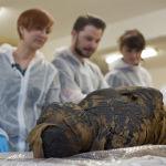 Это единственная известная на данный момент мумия с плодом в утробе. Ее обнаружили в королевских гробницах в Верхнем Египте.