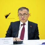 В пресс-центре Sputnik Кыргызстан прошел брифинг Замглавы кабмина Кармышаков о компенсациях пострадавшим на границе