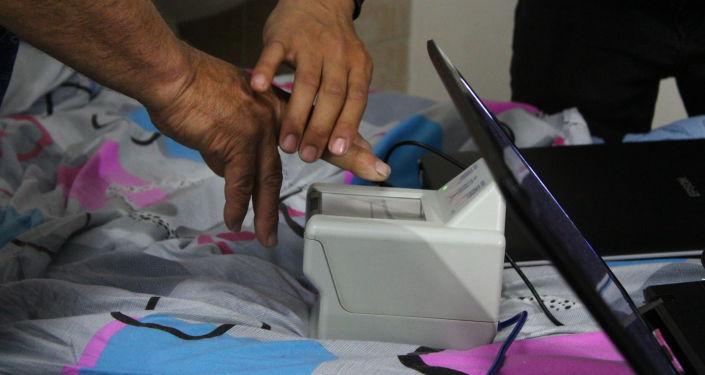 Пострадавший на границе во время сдачи биометрических данных в БНИЦТиО