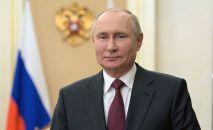 Президент РФ Владимир Путин во время обращения