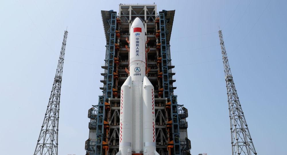 Китайская ракета-носительЧанчжэн-5Б. Архивное фото