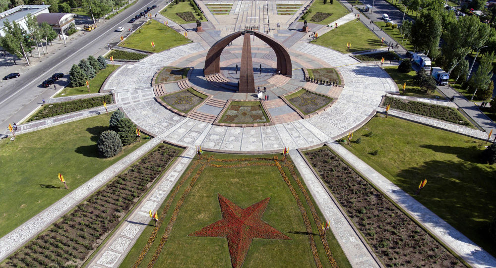 Бишкектеги Жеңиш аянты