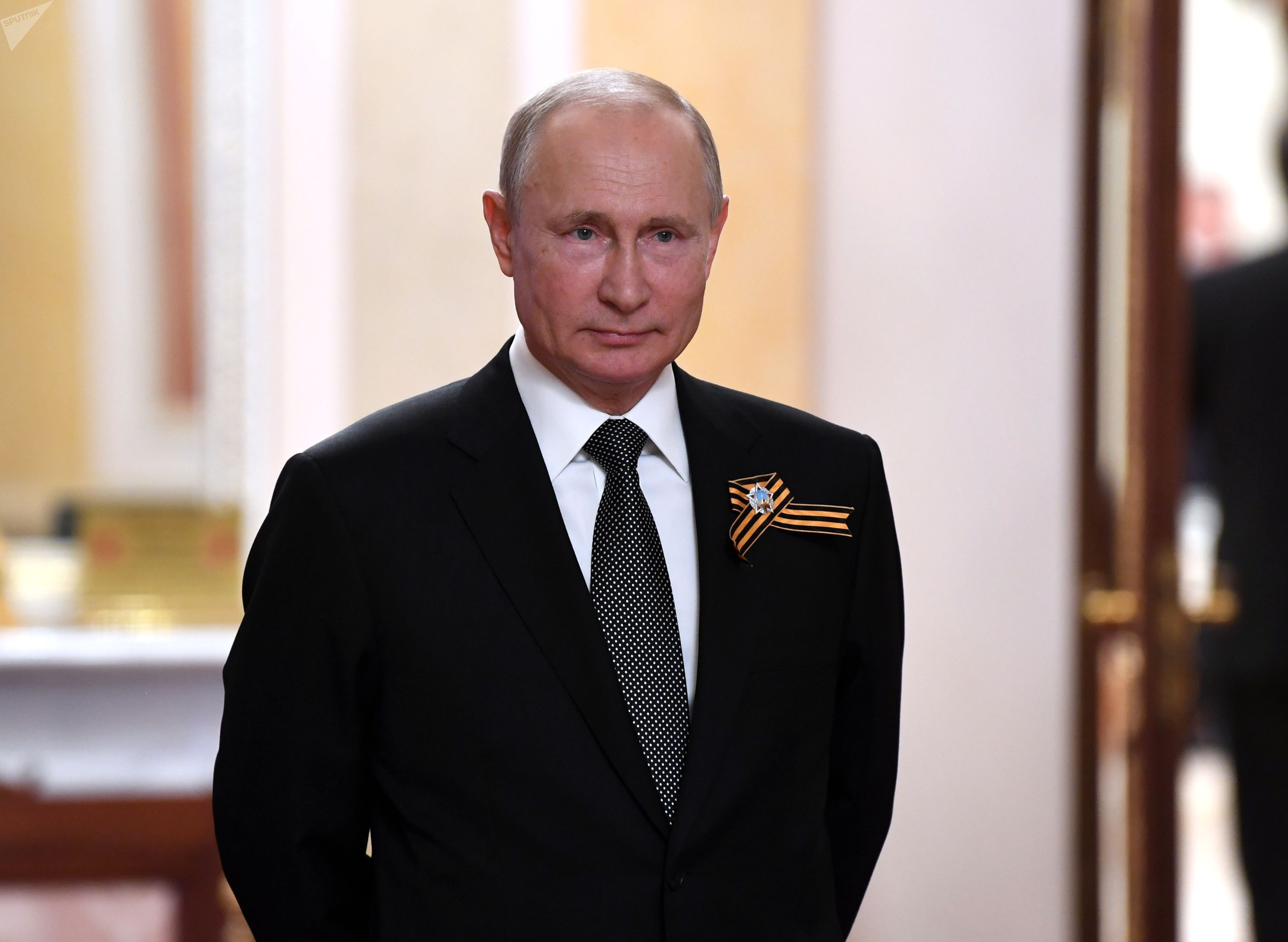 Президент РФ Владимир Путин встречает в Кремле глав иностранных государств, приглашенных на военный парад в ознаменование 75-летия Победы в Великой Отечественной войне 1941-1945 годов.