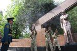 Ош шаарында Улуу Ата Мекендик согуштун 76 жылдыгына карата митинг-реквием өттү
