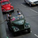 Автопробег финишировал на улице Семетей, 2а (южная часть столицы) в селе Чон-Арык