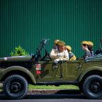 В столице 9 мая прошел автопробег Победа в честь 76-й годовщины Победы в Великой Отечественной войне. На фото участники автопробега.