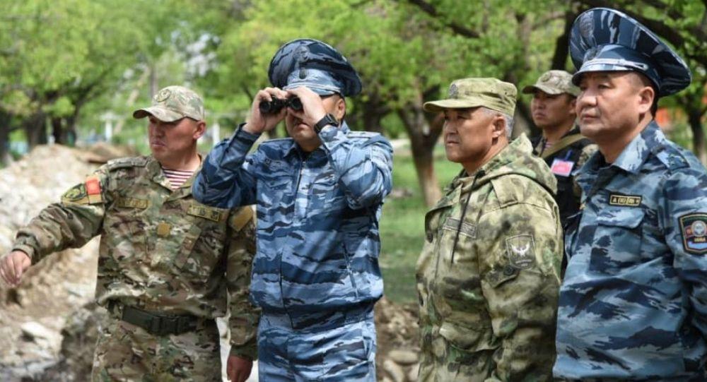 Министр внутренних дел Улан Ниязбеков с рабочей поездкой посетил Баткенскую область