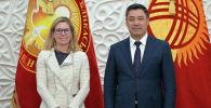 Встреча президента Кыргызстана Садыра Жапарова с вице-президентом Всемирного банка по региону Европы и Центральной Азии Анной Бьерде
