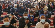 Ош шаарында бүгүн 43 мечитте, анын ичинде Сулайман-Тоо борбордук мечитинде майрамдык айт намаз окулду