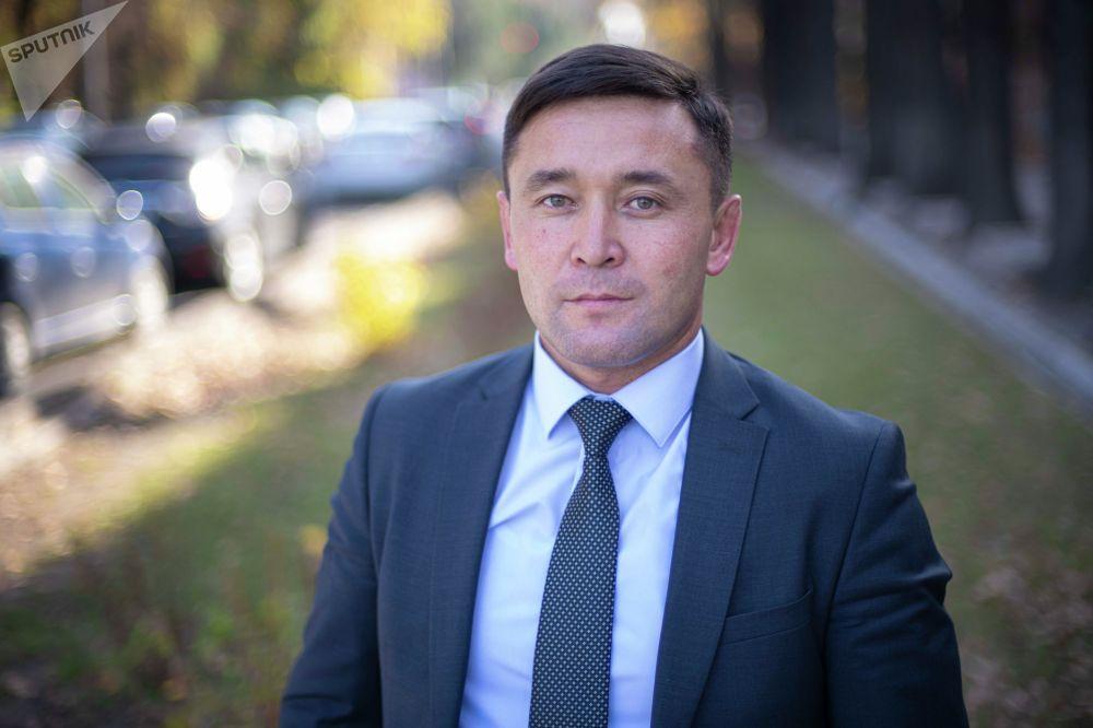 Канат Шабданбаев — директор Госагентства по делам молодежи, физкультуры и спорта КР