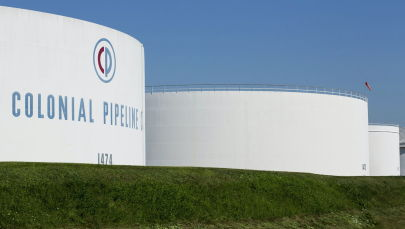 Сборные резервуары компании Colonial Pipeline. Архивное фото