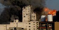 Израиль армиясынын Газага абадан урган соккуларынан улам курман болгондордун саны өсүүдө. Алардын арасында аялдар менен балдар бар. Расмий маалыматтар боюнча, 119 адам каза таап, жүздөгөн киши жаракат алган.