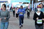 Ысык-Көл облусунун Бактуу-Долоноту айылындагы Run the Silk road — Shanghai Cooperation Organization эл аралык марафонунун катышуучулары