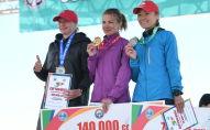 Церемония награждения победителей 9-ого Международного марафона Run the Silk road — Shanghai Cooperation Organization в селе Бактуу-Долоноту Иссык-Кульской области