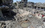 Газа тилкесинде талкаланган үйлөр