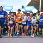 """Ысык-Көлдө Шанхай кызматташтык уюмунун """"Run the Silk Road"""" эл аралык марафону өттү"""