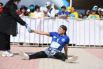 Участник 9-ого Международного марафона Run the Silk road