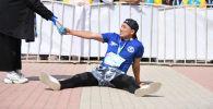 Run the Silk road эл аралык марафонунун катышуучусу