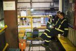 Сотрудники завода по обогащению золотоносной руды в Кумторе. Архивное фото