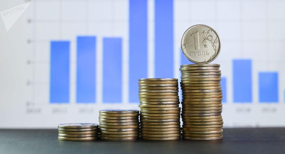 Монеты номиналом один рубль. Архивное фото