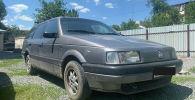 Авто, угнанное во дворе одного из многоэтажных домов Бишкека