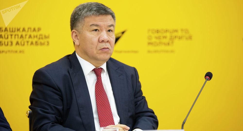 Инвестицияларды илгерилетүү жана коргоо министри Алмамбет Шыкмаматов
