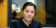 Главный специалист управления разработки проектов актов Министерства юстиции КР Айнура Сулайманова