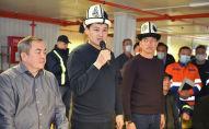 Представление внешнего управляющего Тенгиза Болтурука коллективу рудника Кумтор