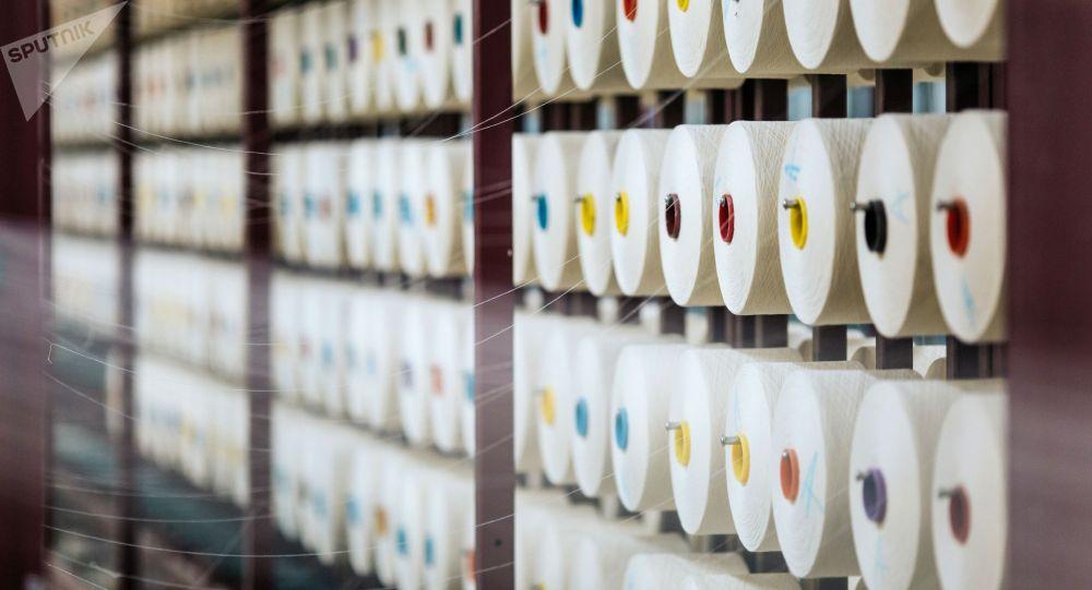 Текстильная продукция. Архивное фото