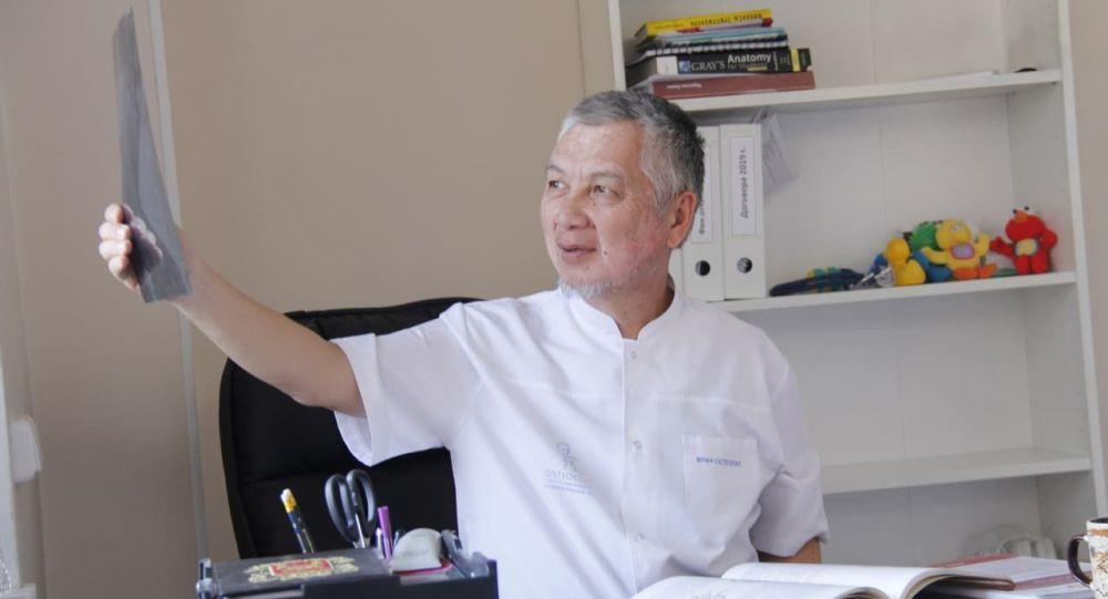 Невропатолог, остеопатия дарыгери Жапарбек Жекишов