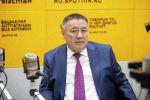 Депутат Жогорку Кенеша Улукбек Ормонов на радио Sputnik Кыргызстан