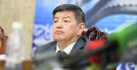 Архивное фото министра экономики и финансов Акылбека Жапарова