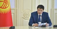 Министрлер кабинетинин төрагасы Улукбек Марипов. Архив