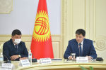 Председатель Кабинета Министров Кыргызской Республики Улукбек Марипов
