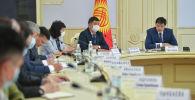 Министрлер кабинетинин төрагасы Улукбек Марипов жыйын учурунда