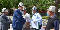 Министрлер кабинетинин төрагасы Улукбек Марипов Кадамжай шаарында