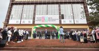 Церемония открытия современного Центра обслуживания населения в Ноокатском районе Ошской области