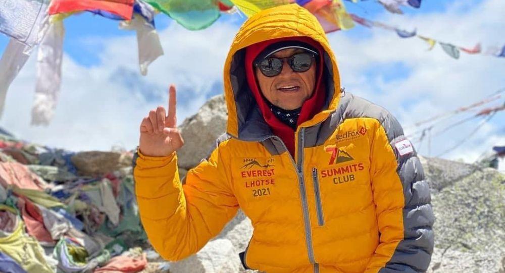 Кыргызстанский альпинист Эдуард Кубатов. Архивное фото