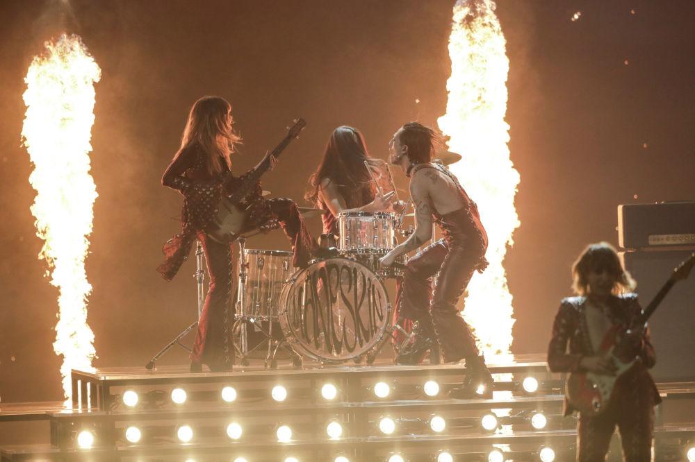 Итальянская группа Maneskin с песней Zitti e buoni победила в музыкальном конкурсе Евровидение-2021.