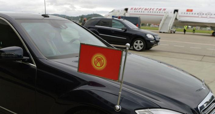 Кортеж президента КР во время рабочего визита в Российскую Федерацию. 24 мая 2021 года