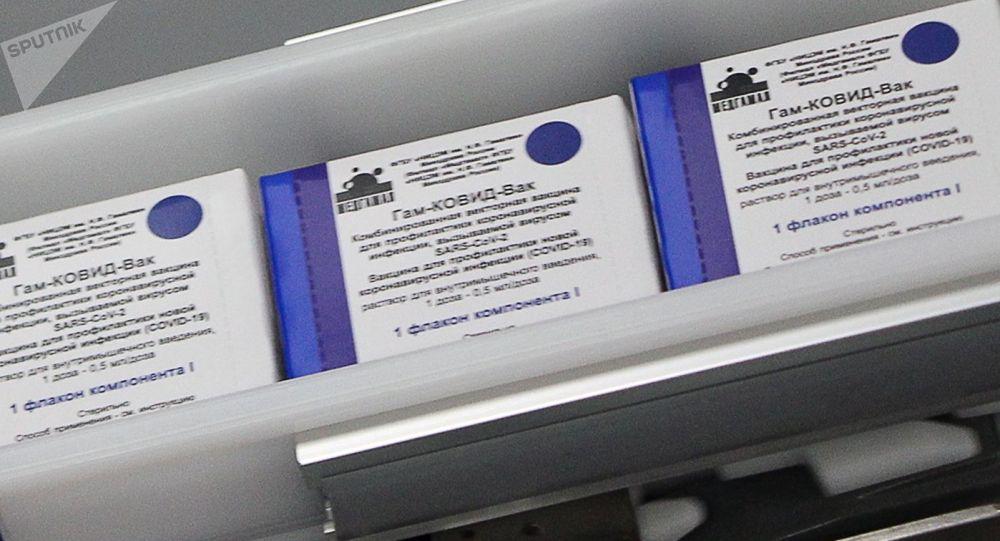 Производство российской вакцины Спутник V. Архивное фото
