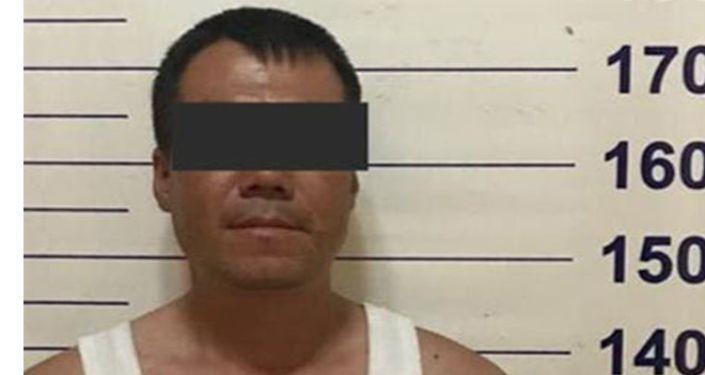 Подозреваемый в убийстве мужчины на пересечении проспекта Чуй и улицы Исанова в Бишкеке