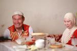 Ядро ыргытуу чебери Арстанбек Базаркулов жубайы менен