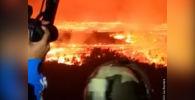 Конгодогу Ньирагонго деп аталган вулкандан улам ал аймакка жакын шаардын жашоочулары үйлөрүн таштап качууга аргасыз болгон.