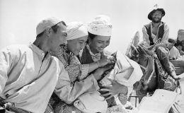 Кадр из кинофильма Поклонись огню. Студия Киргизфильм. 1971 год.