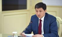 Председатель кабинета министров КР Улукбек Марипов. Архивное фото