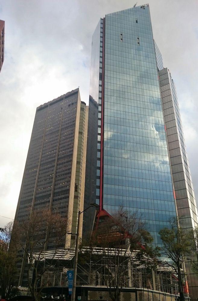 Здание Atrio North Tower в центре Боготы (Колумбия)